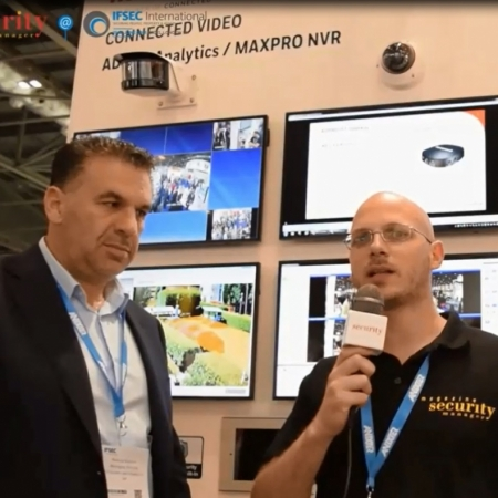 Managing Director Interview at IFSEC for Video Analytics - IFT GateWay